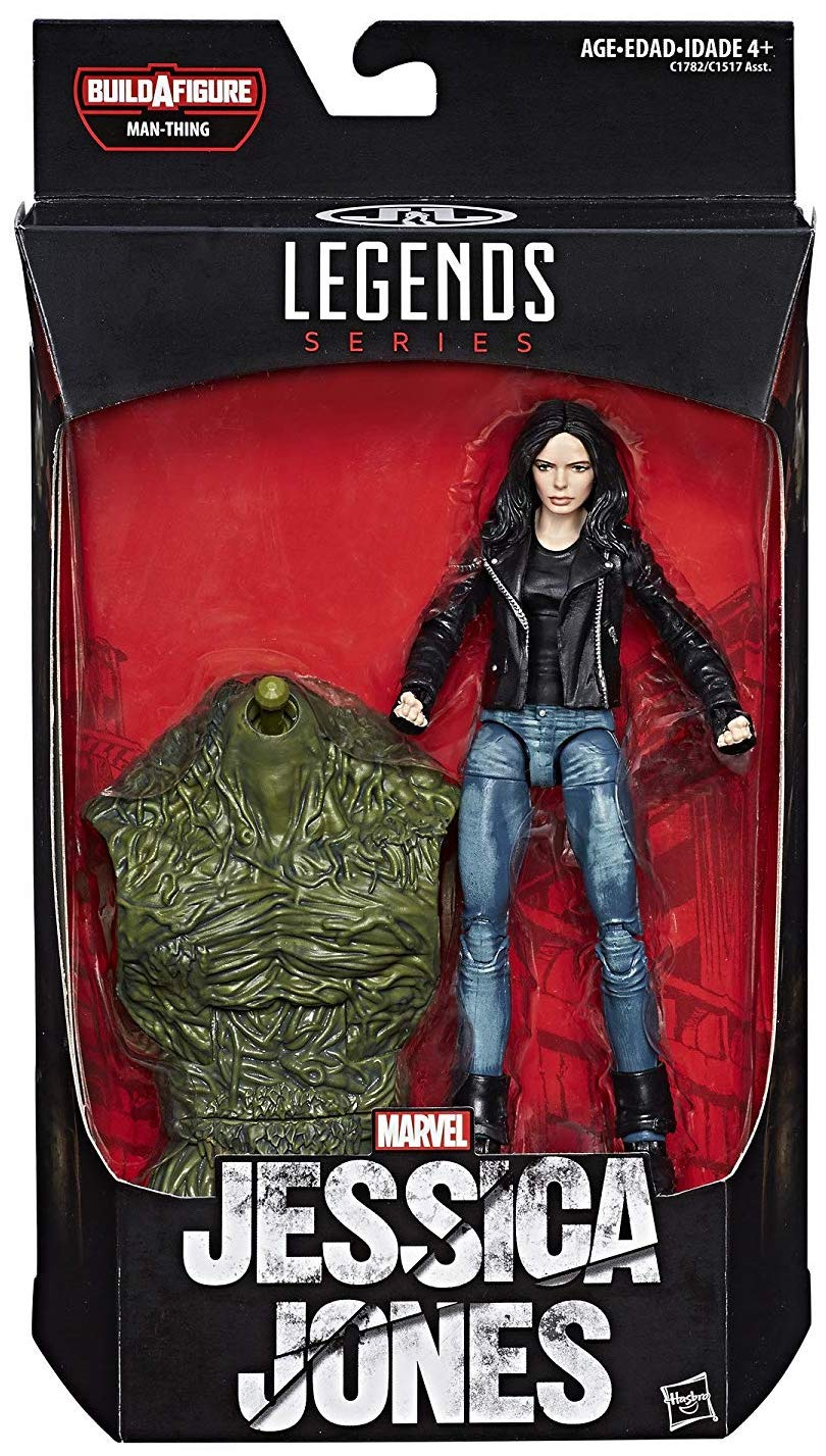 Marvel Legends Man-Thing Series Jessica Jones Icon