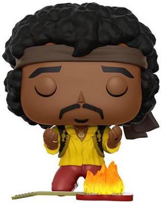 Funko Pop! Rocks Jimi Hendrix (w/ Flaming Guitar)