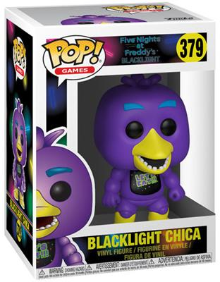 Funko Pop! Games Chica (Blacklight) Stock