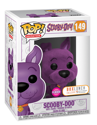 Funko Pop! Animation Scooby-Doo (Flocked) Purple Stock