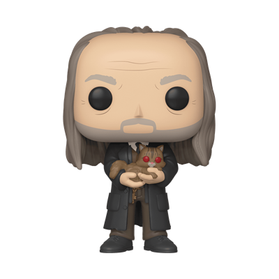 Funko Pop! Harry Potter Filch with Mrs. Norris