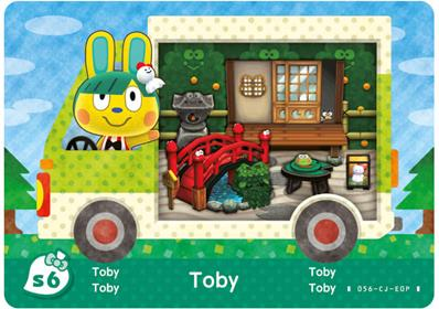 Amiibo Cards Animal Crossing X Sanrio Toby - Keroppi (Europe)