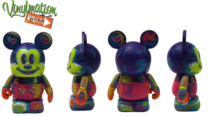 Vinylmation Open And Misc D-Tour Scribbles
