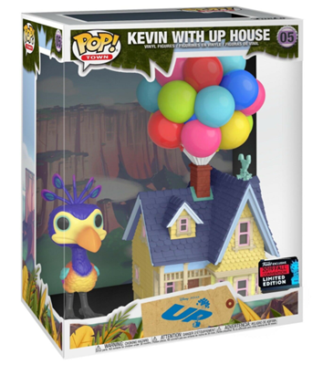 Funko Pop! Disney Kevin with Up House Stock