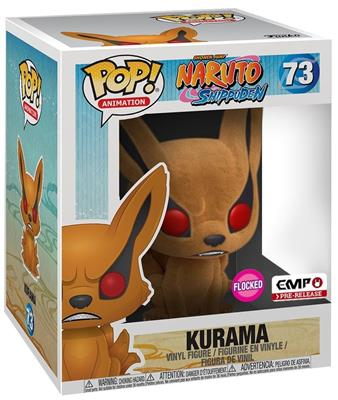 "Funko Pop! Animation Kurama - Flocked 6"" Stock"