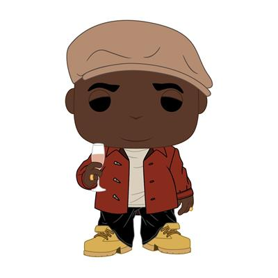 Funko Pop! Rocks Biggie (Poppa) (Hot Topic)