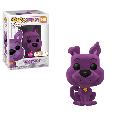Funko Pop! Animation Scooby-Doo (Flocked) Purple
