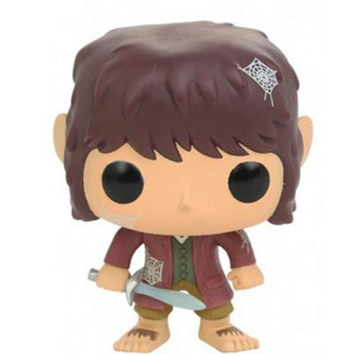 Funko Pop! Movies Bilbo Baggins (Spider Webs) Icon