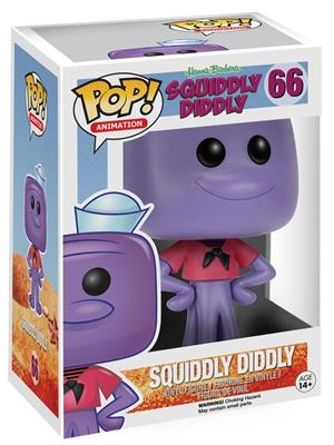 Funko Pop! Animation Squiddly Diddly Stock