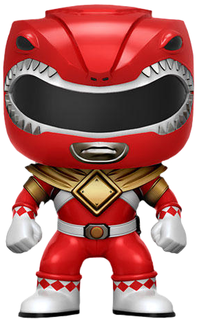 Funko Pop! Television Red Ranger (Dragon Shield)