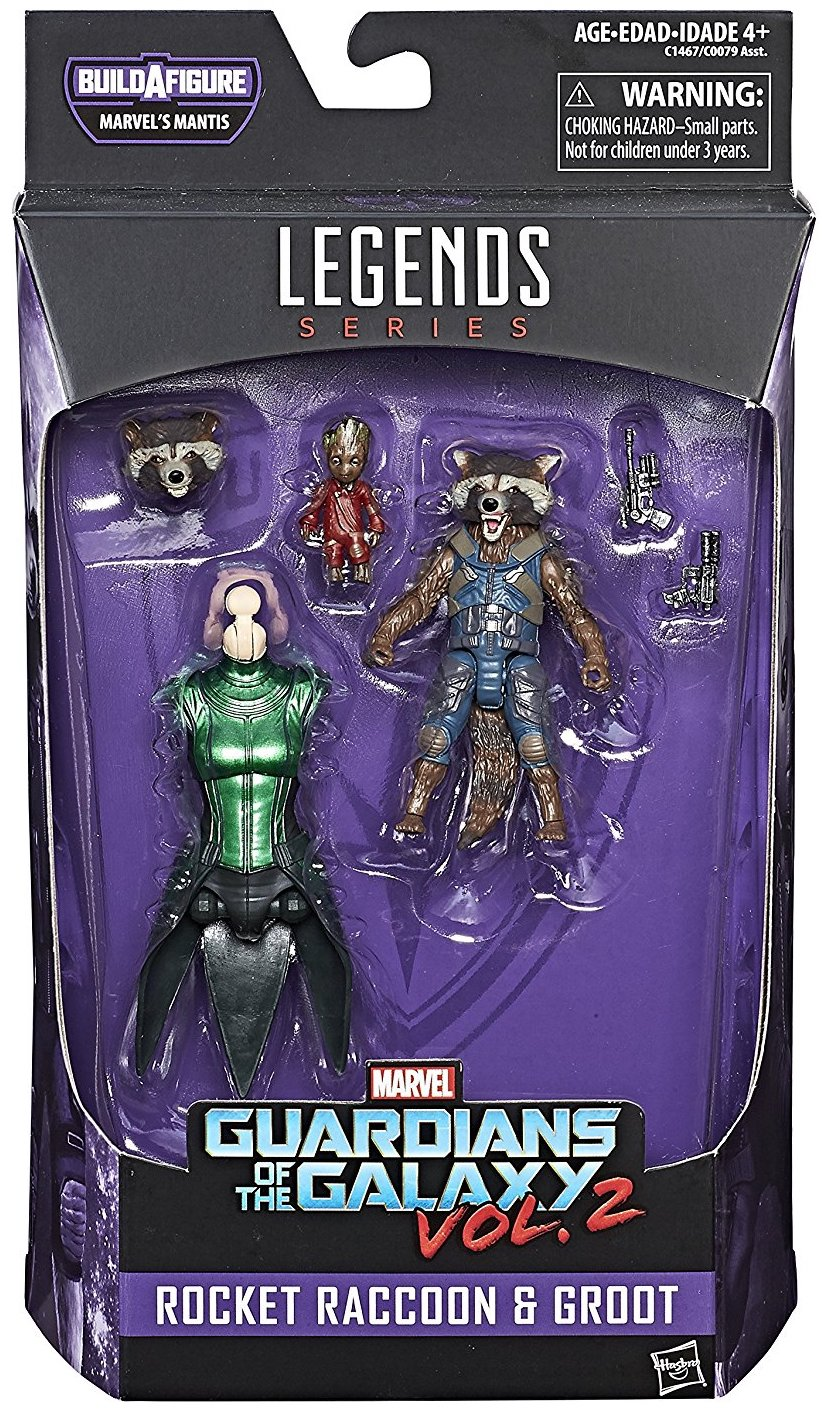 Marvel Legends Mantis Series Rocket & Baby Groot