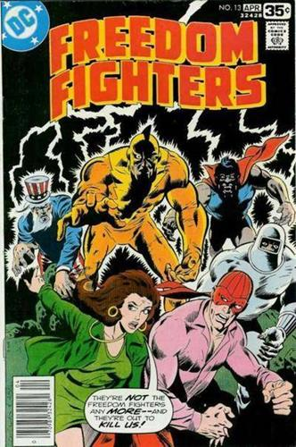 DC Comics Freedom Fighters (1976) Freedom Fighters (1976) #13 Stock