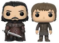 Funko Pop! Game of Thrones Jon Snow & Bran Stark