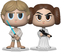 Vynl All Luke Skywalker + Princess Leia