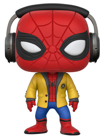 Funko Pop! Marvel Spider-Man (w/ Headphones)