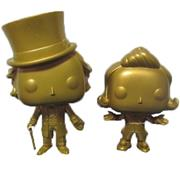 Funko Pop! Movies Willy Wonka & Oompa Loompa (Gold)
