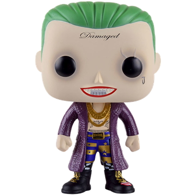 Covetly Funko Pop Heroes The Joker Suicide Squad Boxer 104