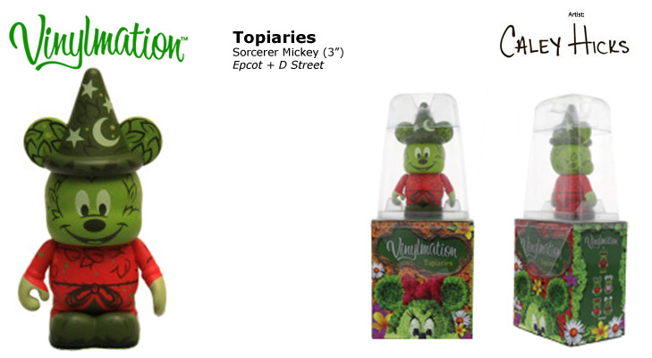 Vinylmation Open And Misc Topiaries Sorcerer Mickey