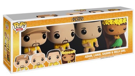 Funko Pop! Asia Aloha Plate Truck (4-Pack) Stock
