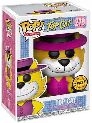 Funko Pop! Animation Top Cat (Pink Vest) - CHASE Stock