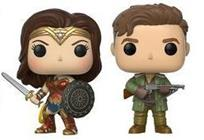 Funko Pop! Heroes Wonder Woman & Steve Trevor