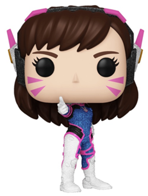 Funko Pop! Games D.Va (Diamond Collection)
