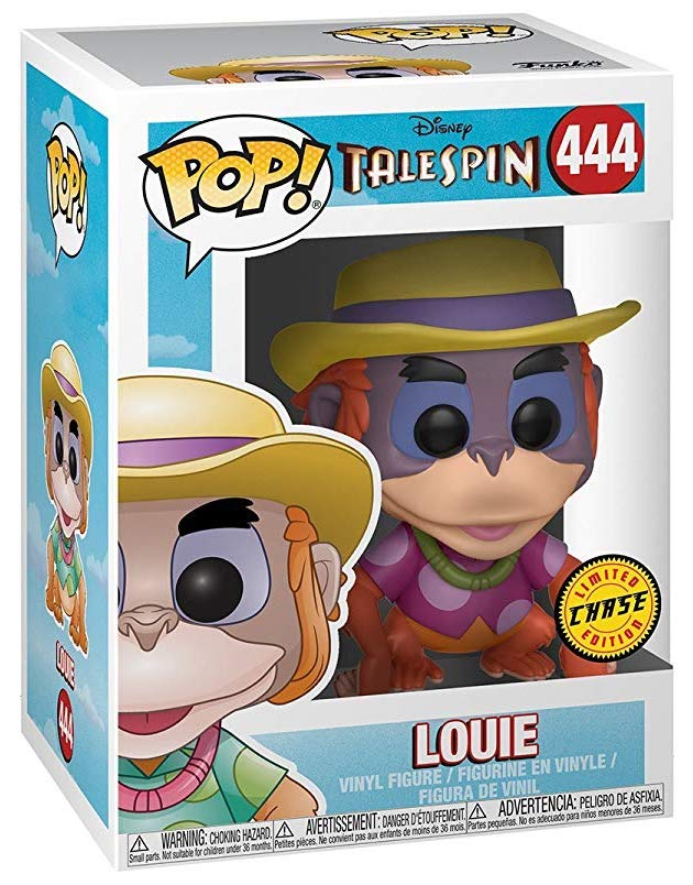 Funko Pop! Disney Louie (Pink Shirt) - CHASE Stock