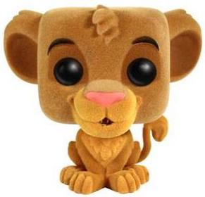 Funko Pop! Disney Simba (Flocked)
