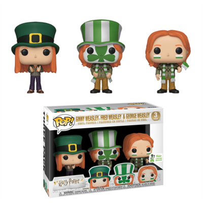 Funko Pop! Harry Potter Fred George Ginny (Pack of 3)