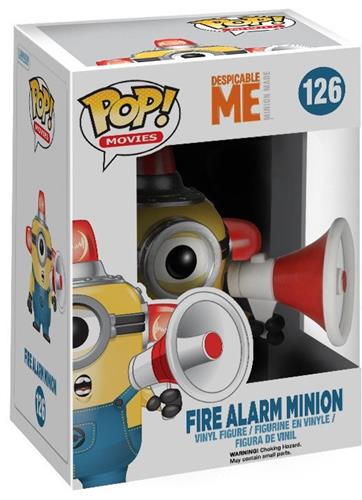 Funko Pop! Movies Minion (Fire Alarm) Stock Thumb