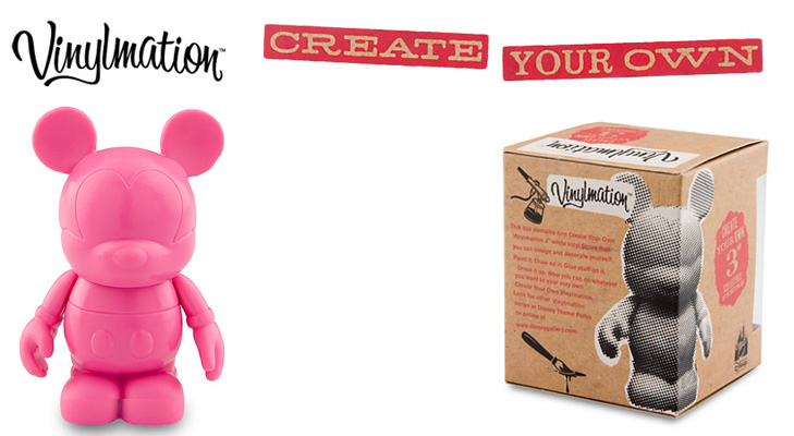 Vinylmation Open And Misc Create Your Own Pink
