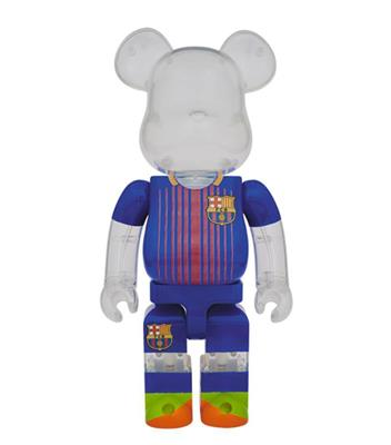 Be@rbrick Sports FC Barcelona 1000% Icon