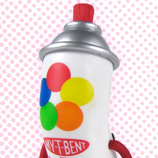 Kid Robot Blind Boxes Bent World Spray Can