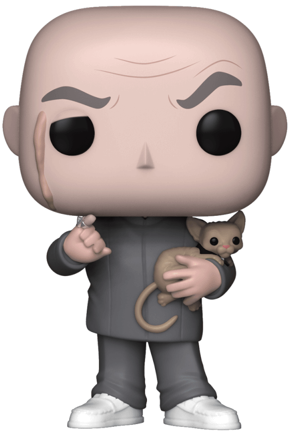 Funko Pop! Movies Dr. Evil Icon