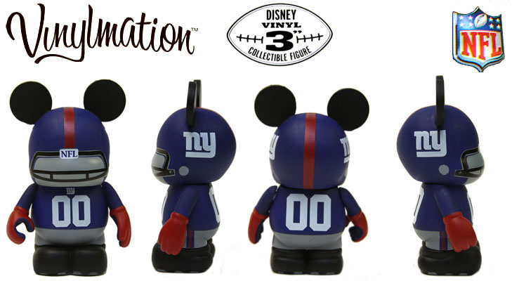 Vinylmation Open And Misc NFL New York Giants
