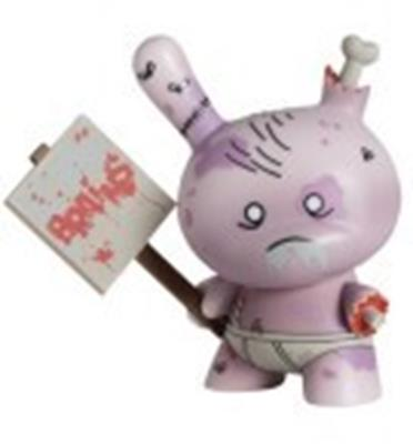 Kid Robot Special Edition Dunny Zombie (International) Stock