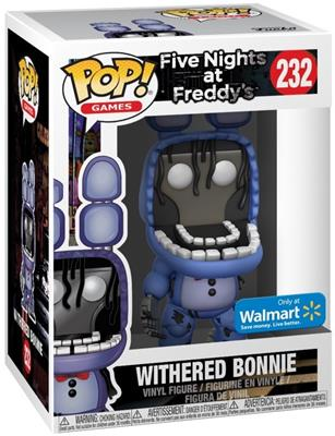 Funko Pop! Games Bonnie (Withered) Stock
