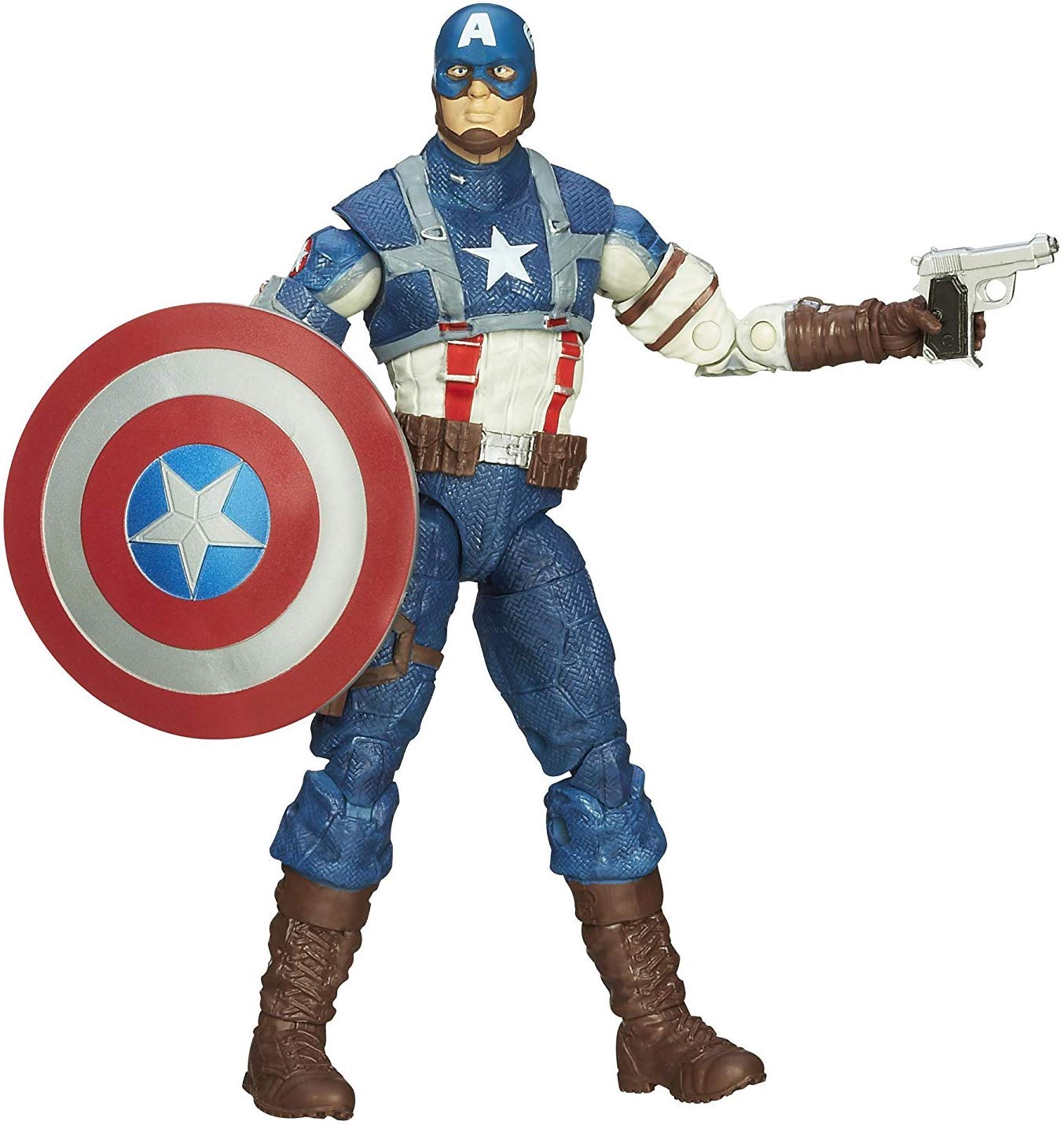 Marvel Legends Mandroid Series Captain America (WW2) Stock