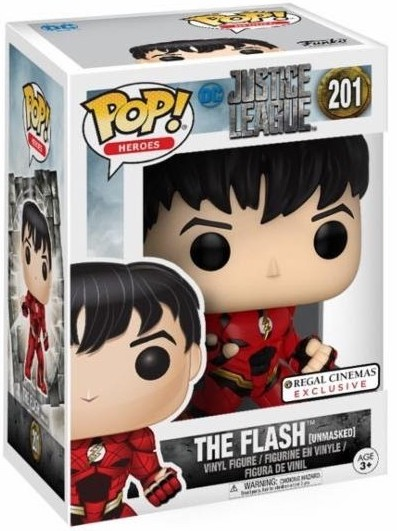 Funko Pop! Heroes The Flash (Unmasked) Stock