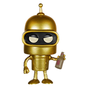 Funko Pop! Animation Bender (Gold)