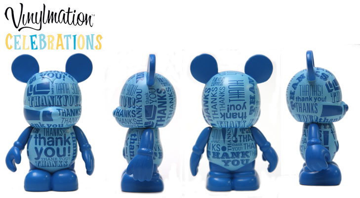 Vinylmation Open And Misc Celebrations Thank You