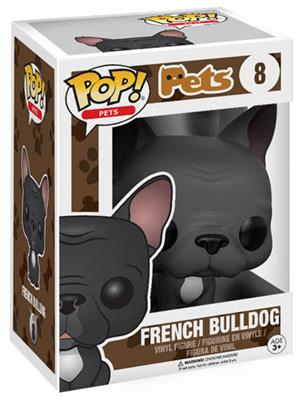 Funko Pop! Pets French Bulldog (Black) Stock