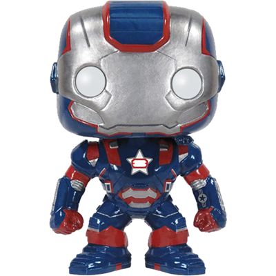 Funko Pop! Marvel Iron Patriot (Iron Man 3)