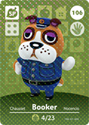 Amiibo Cards Animal Crossing Series 2 Booker