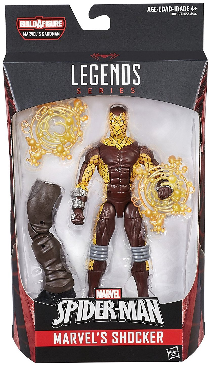 Marvel Legends Sandman Series Shocker