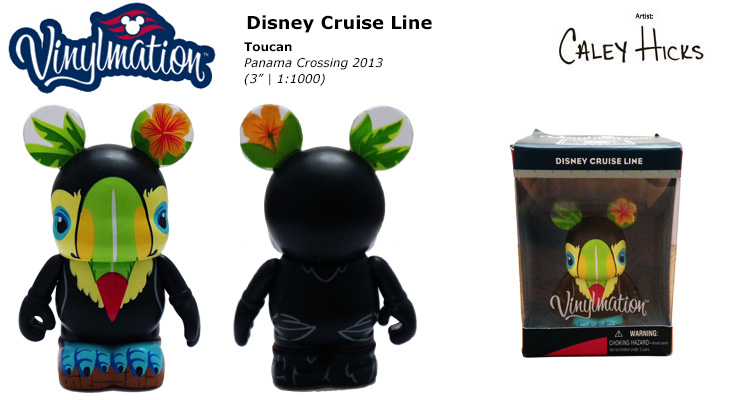 Vinylmation Open And Misc Disney Cruise Line Toucan