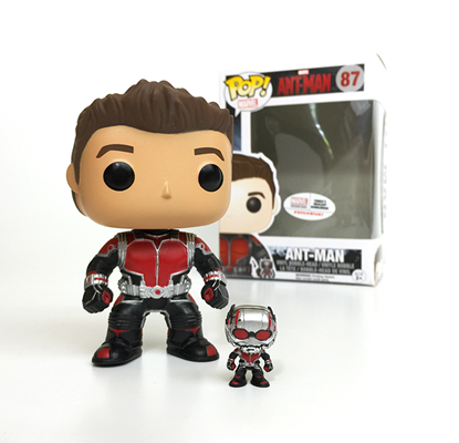 Funko Pop! Marvel Ant-Man (Unmasked) Stock
