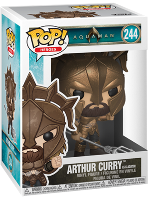 Funko Pop! Heroes Arthur Curry (Gladiator) Stock