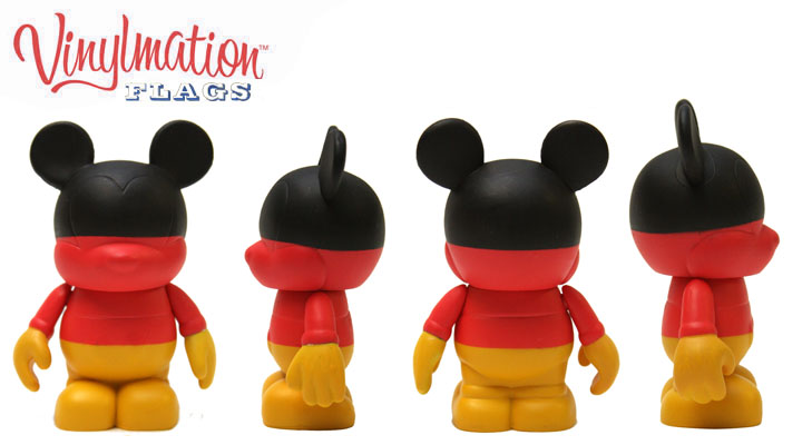 Vinylmation Open And Misc Flags Germany