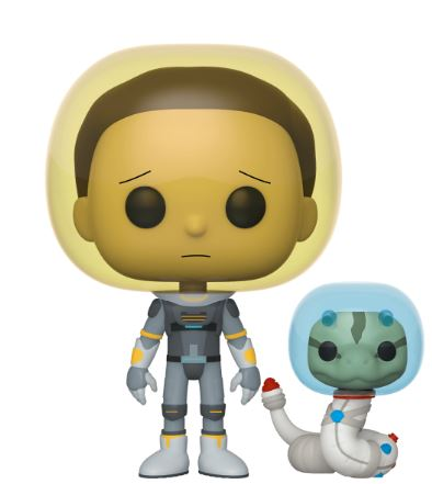 Funko Pop! Animation Space Suit Morty with Snake